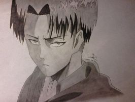 Levi Rivaille (finished) by shadowvid55
