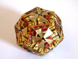 Daisy Dodecahedron by SkyWookiee