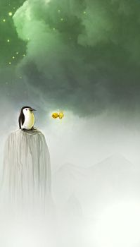 Pinguim by marchine
