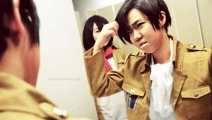 Levi and Mikasa - test shot by cian1675