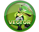 I Love Sonic Badges Request - Vector by darkfailure