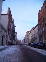 Torun in snow 8 by xxtasiaxx