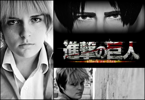 Attack On Titan Collage 1 by Pudique