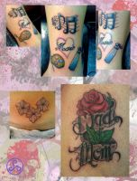 OLD First Tattoos 3 by Klyde-Chroma