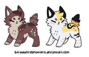 Customs for XKSilver by LizzysAdopts