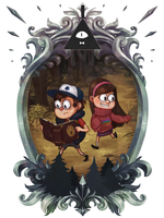 Gravity Falls by Vaahlkult