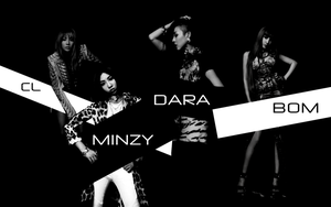 2NE1 COMEBACK WALLPAPER by Awesmatasticaly-Cool