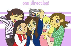 girly one direction by Shika-a