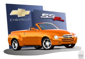 Chevrolet SSR 2003 by Didda