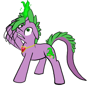 Spike is bestpony, I guess. by Fethur