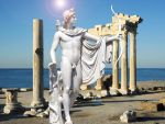 Apollo at the Temple of Apollo by Apollonaris
