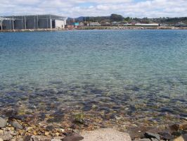 View of Ulverstone water by slayer20
