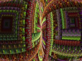 Dimensional hack II by IDeviant