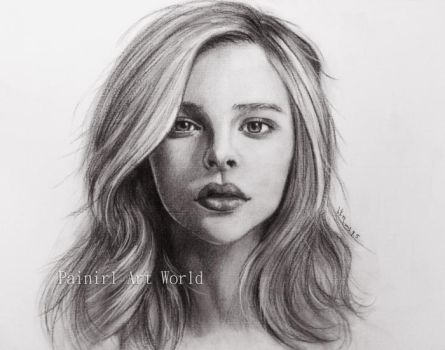 Chloe Grace Moretz by Painirl