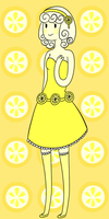Milly the Lemon princess by Ask-Poison-Princess