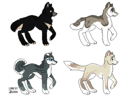 Canine Adopts - 3/4 - OTA - Open! by Deviadopts