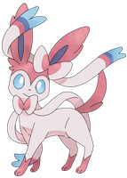 Sylveon Vector Art by AgentLiri
