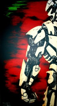 Untitled robot by golic