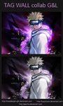 Tag Wall NARUTO GL by luquituxxx