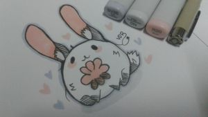 cute little rabbit by sugmartchan