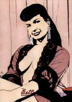 Bettie Page 2 by soliton