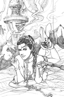 Pulp  Leia Pencil Sm by davidnewbold