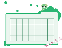 Cheery-Green Calender by Chocobo-xiii