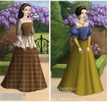Snow White, Tudor Style by TFfan234