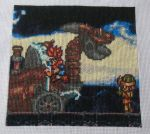 Child's Play Stitching - Chrono Trigger Square by Craftigurumi