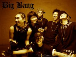 Big Bang Picture by Koreanclub