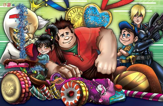 Wreck it Ralph by TyrineCarver