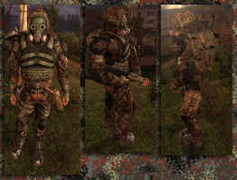 Flecktarn Stalker Suit by crowhitewolf