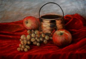 Still life oil paint by Boias