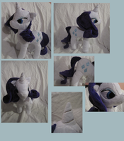 Rarity plushie by FollyLolly