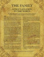 Proclamation to the World by spener88