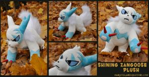 Shining Zangoose Pluse by MangoIsland