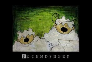Friendsheep by MSLucy