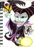 Maleificent by v-Germs-v