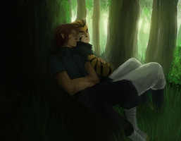 Lion-o and Tygra by JJ-Power