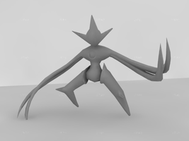 Deoxys model by DEElekgolo