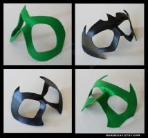 4 leather super hero masks by nondecaf