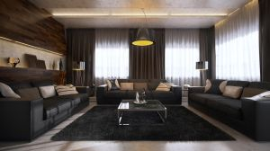 contemporaneo de interiores by kulayan3d