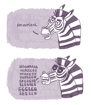 Zebra by sketchinthoughts