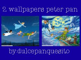 2 Wallpapers Peter Pan by dulcepanquecito