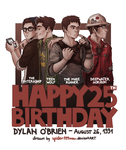HappyB-Day Dylan by spider999now