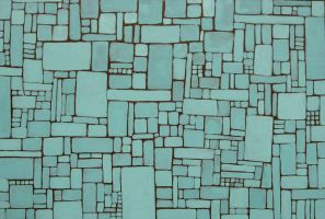 Aqua Abstract by kizette