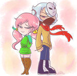 CM: Mika and LSA by PrincessCallyie