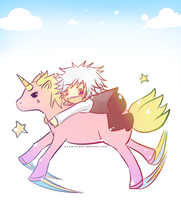 His Little Pony Unicorn thing by kyunyo