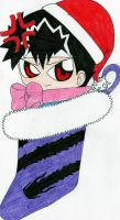 Stocking for Hiei Fans by Hieiskittygirl
