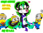 Sarah Skunky And Her Minions by Squillarah